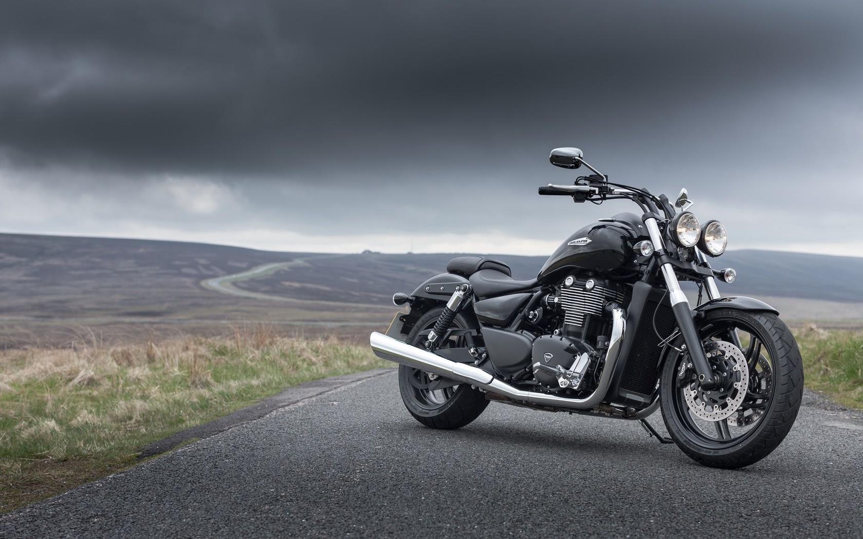 мотоцикл, triumph