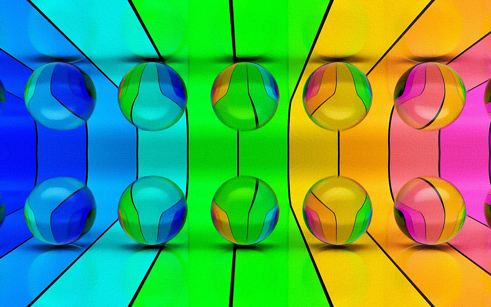 шары, яркие, цвета, обои