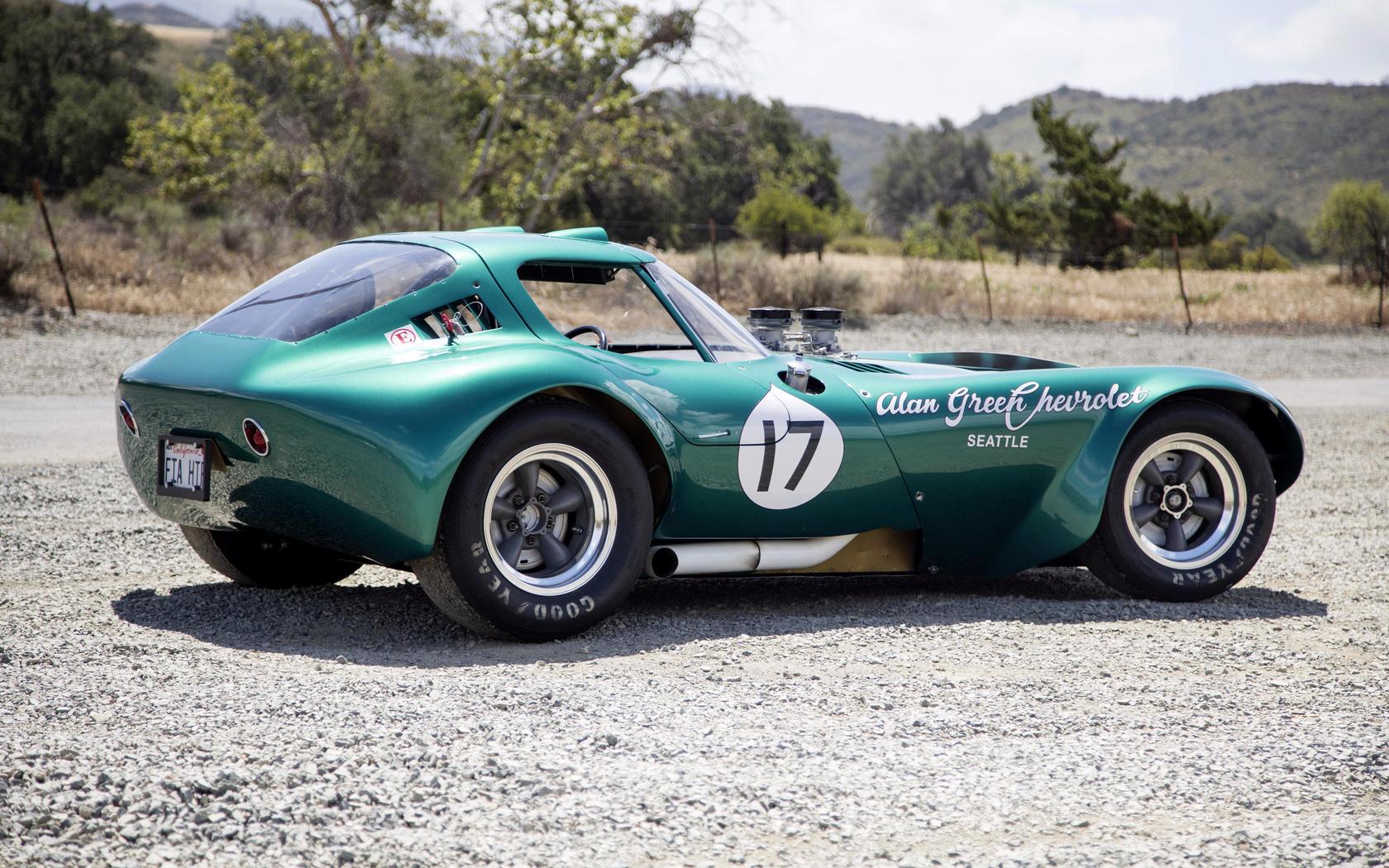 chevrolet, ретро, 1963-65, cheetah, coupe, спорткар