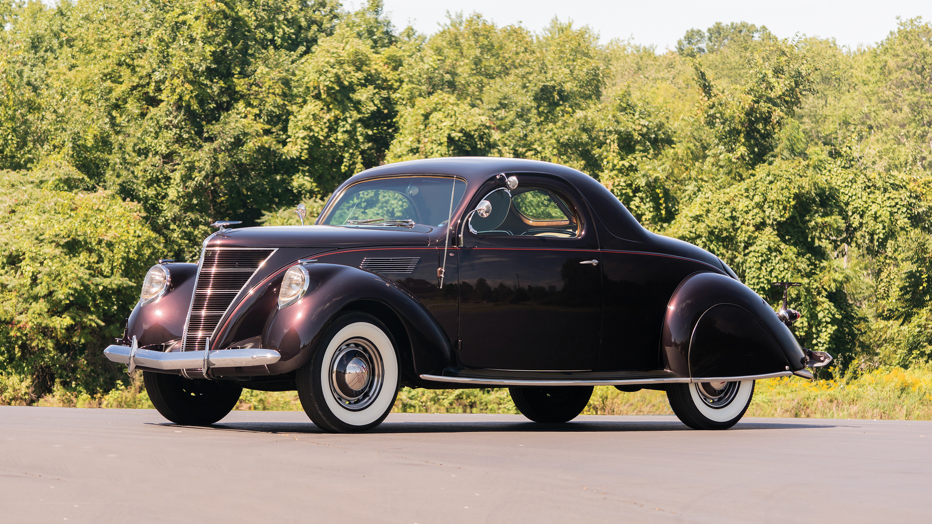 lincoln, retro, 1937, zephyr
