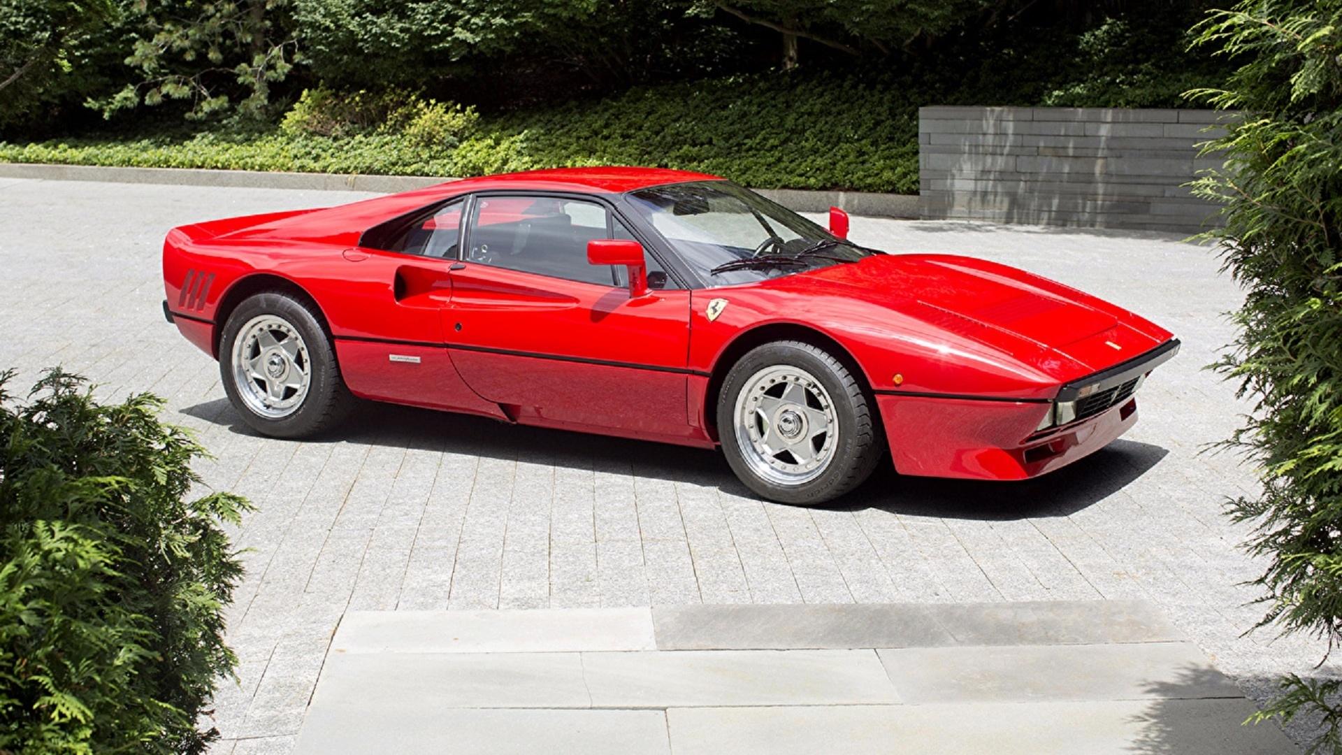 феррари, 1984-85, спорткар, красный