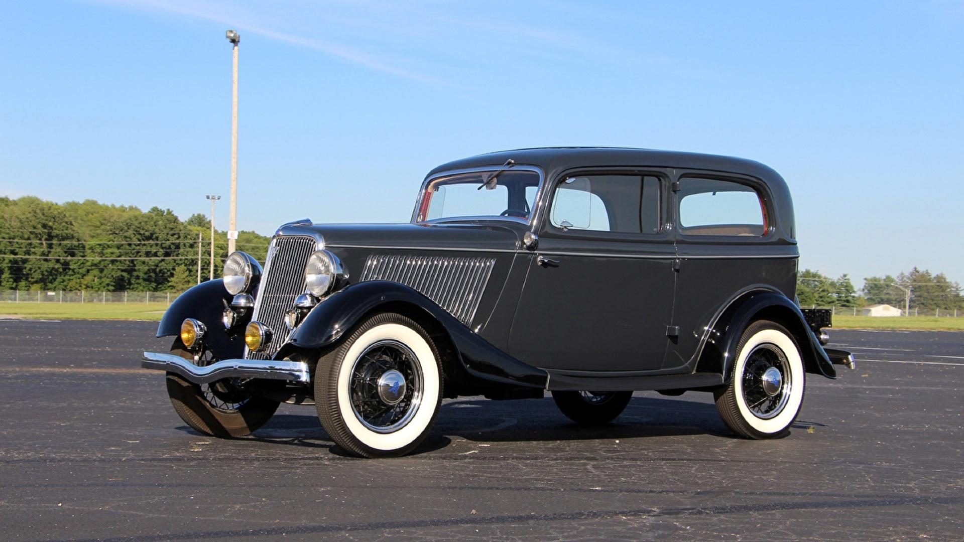 ford, tudor, deluxe, v8, 1934