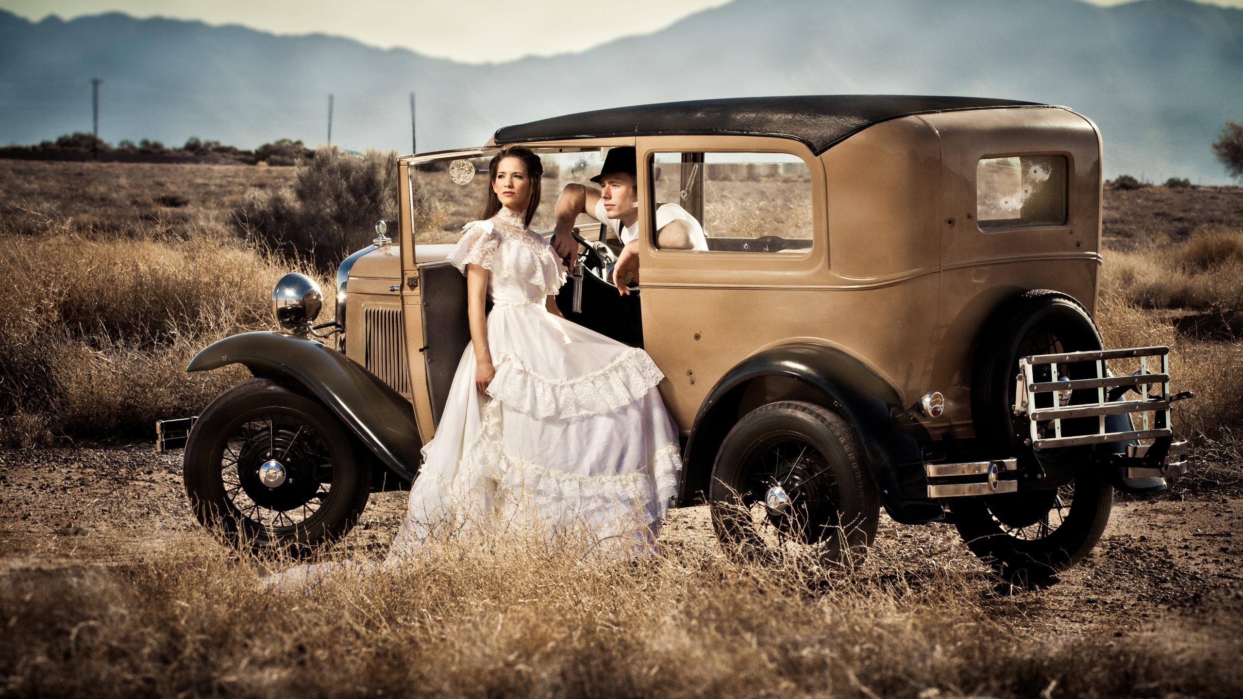 свадьба, аризона, ford, винтаж, клайд, помолвка, пушка, бонни, пулевые отверстия