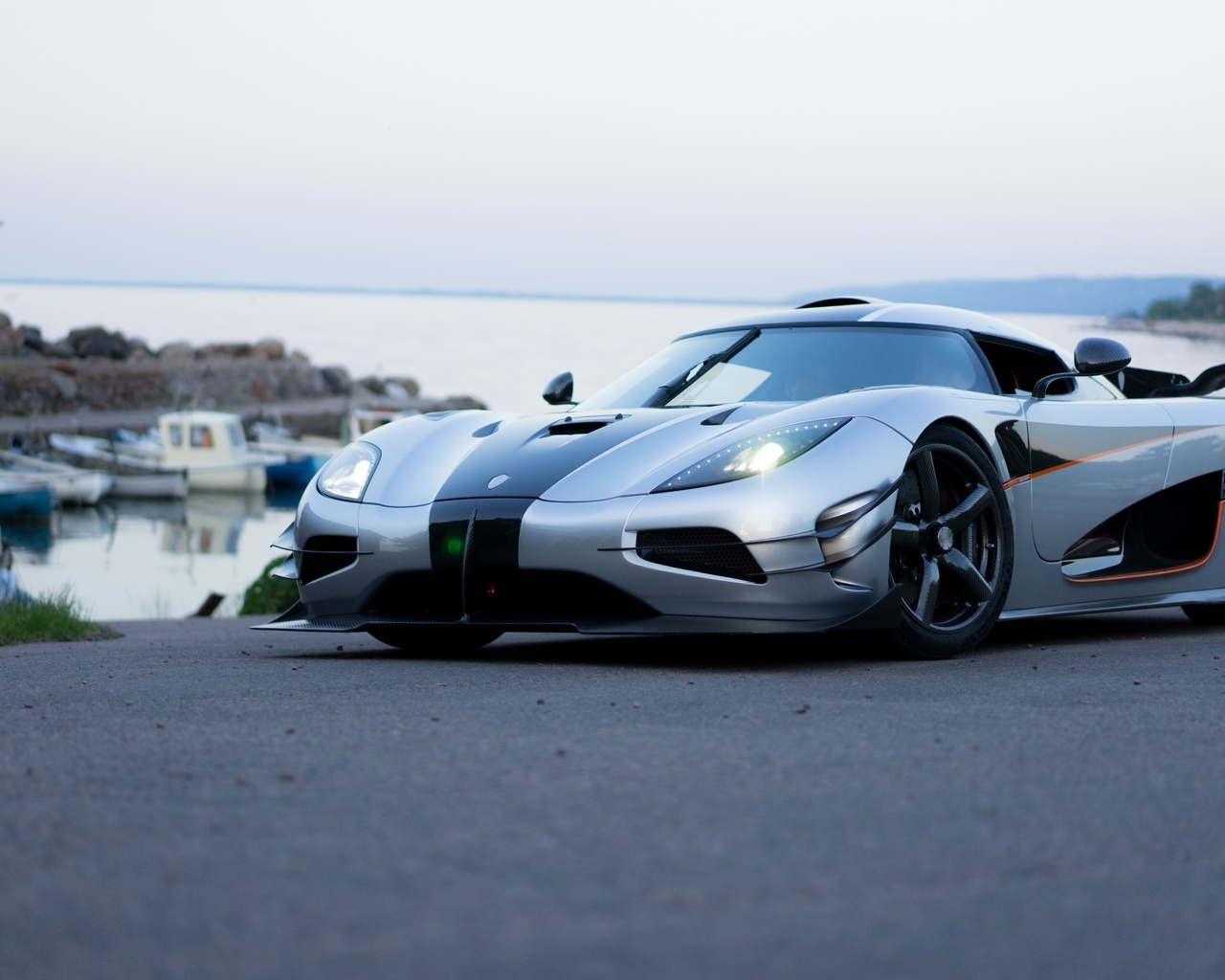 koenigsegg, one1, gray