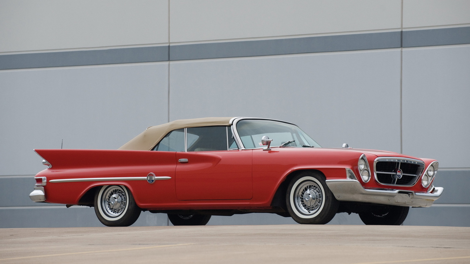 chrysler, 300g, convertible, 1961