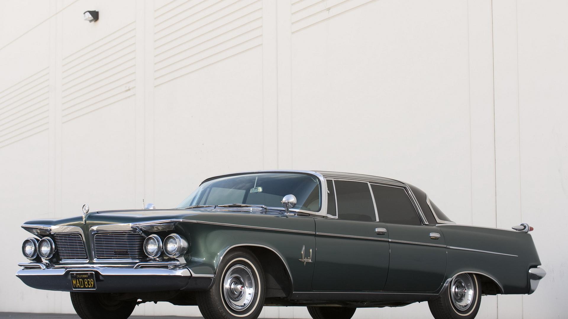 chrysler, imperial, southampton, custom, 1962