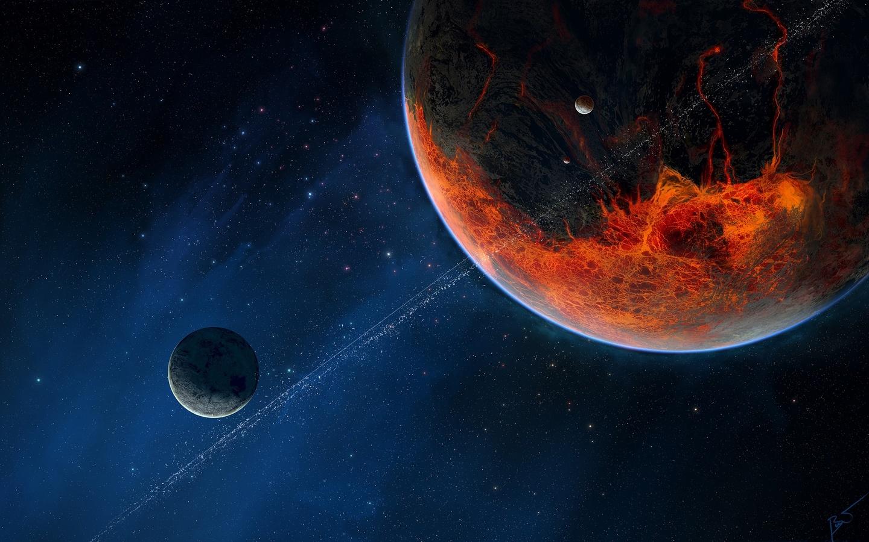 планеты, космическое пространства