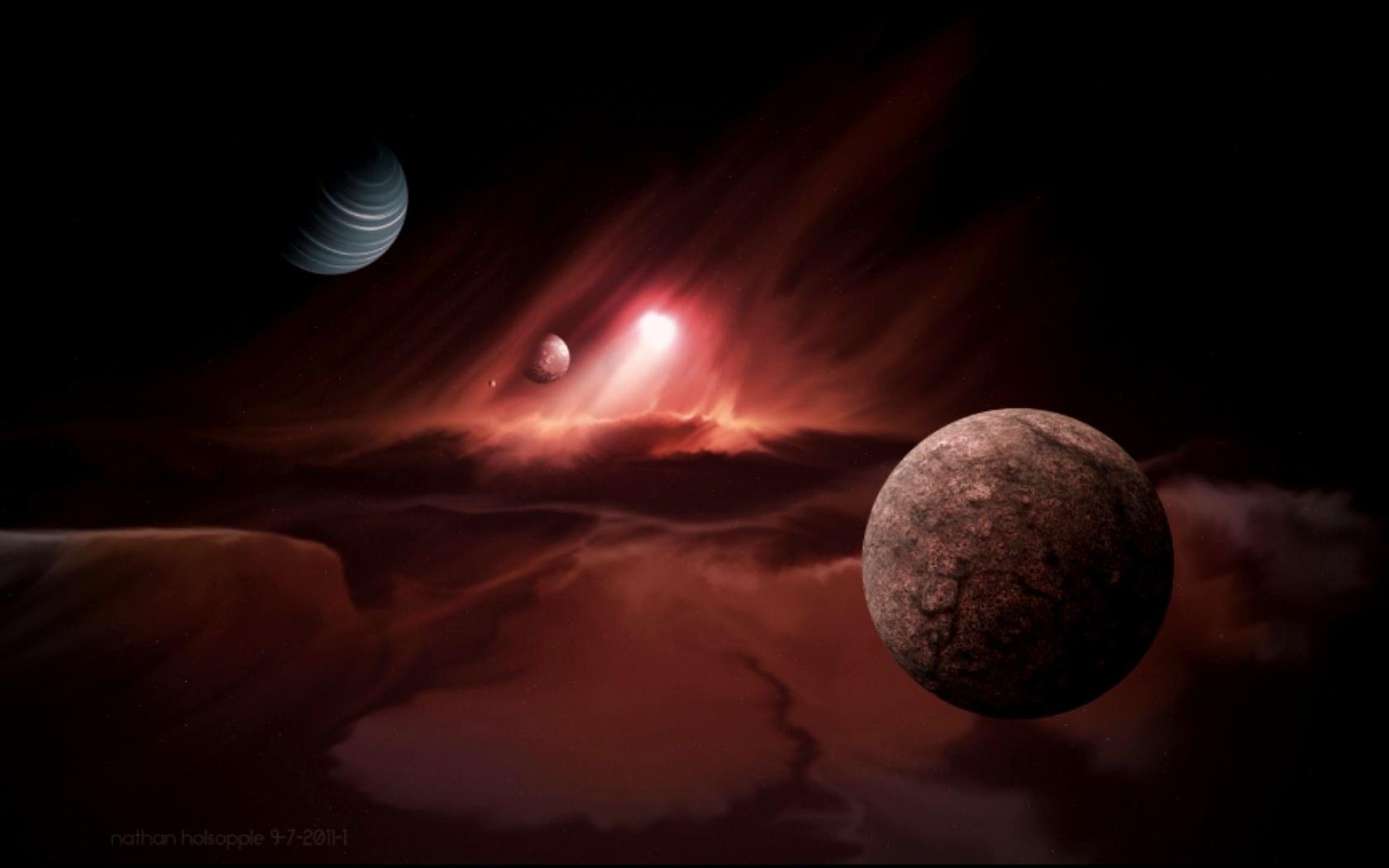 фантастика, наука, пространство