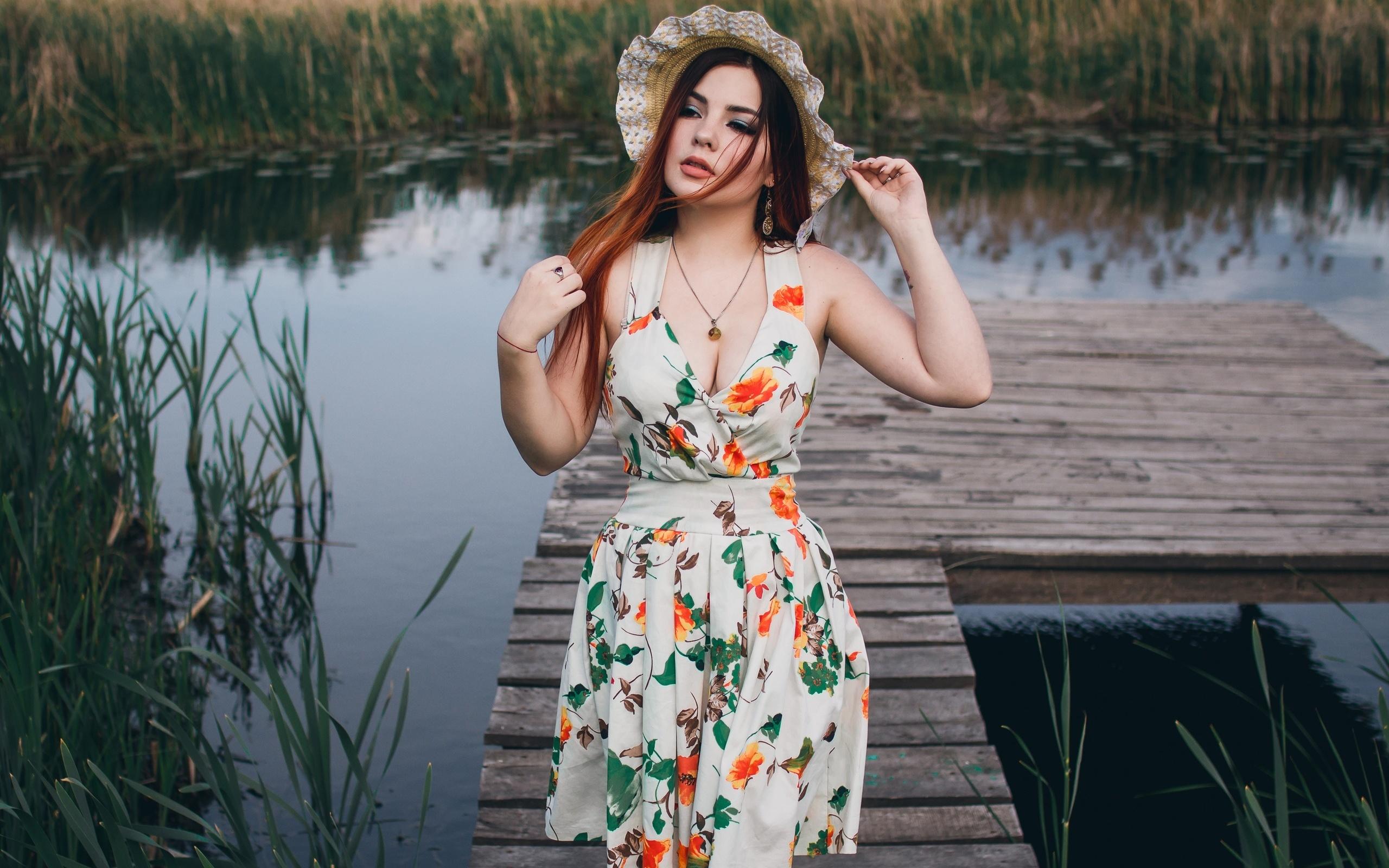 речка, лето, девушка, фотограф, алексей поликутин