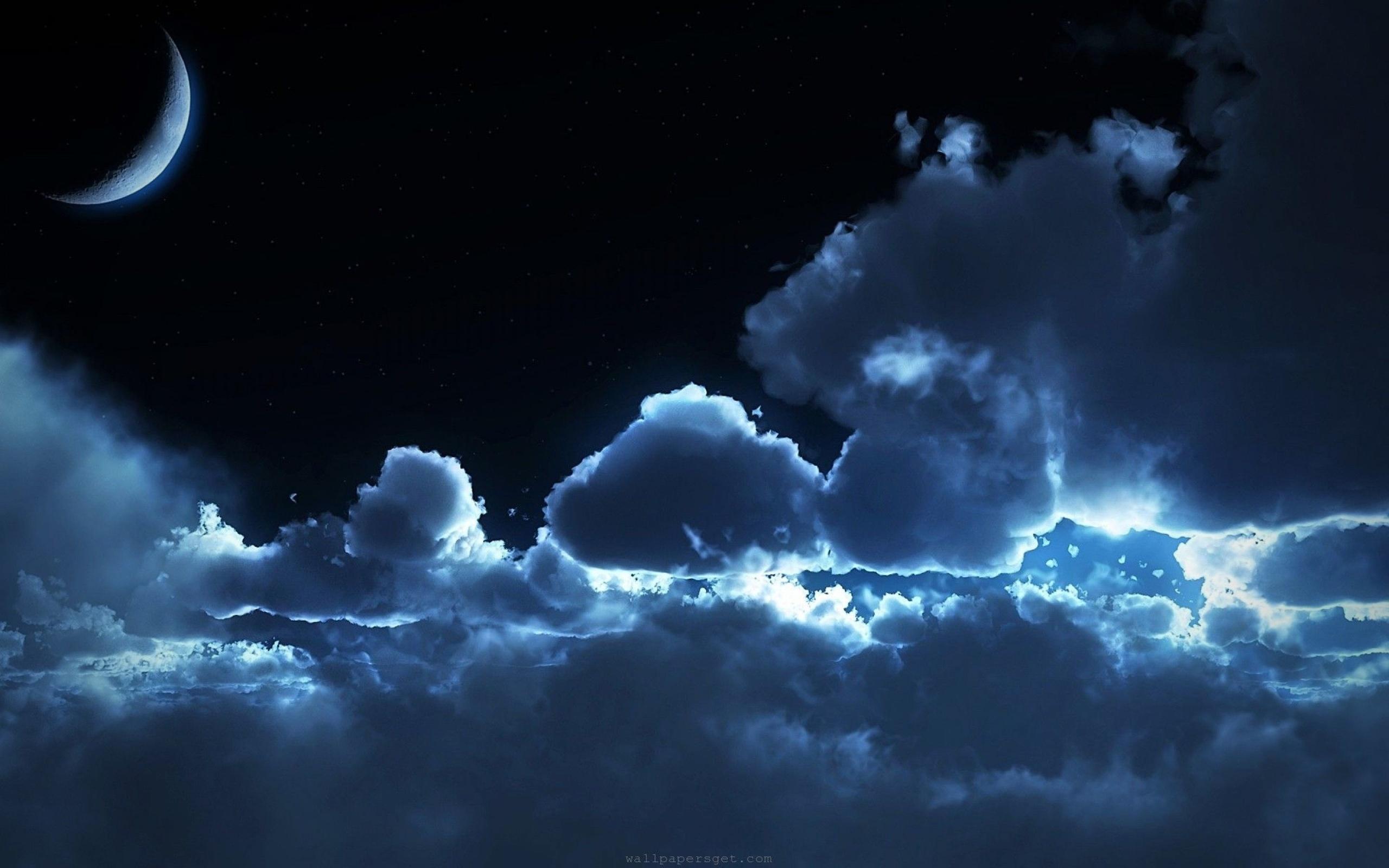 Картинки ночь красивые, открытка