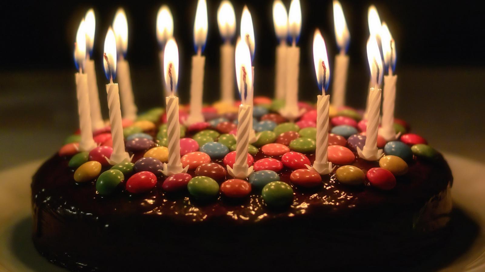 торт, свечи, праздник