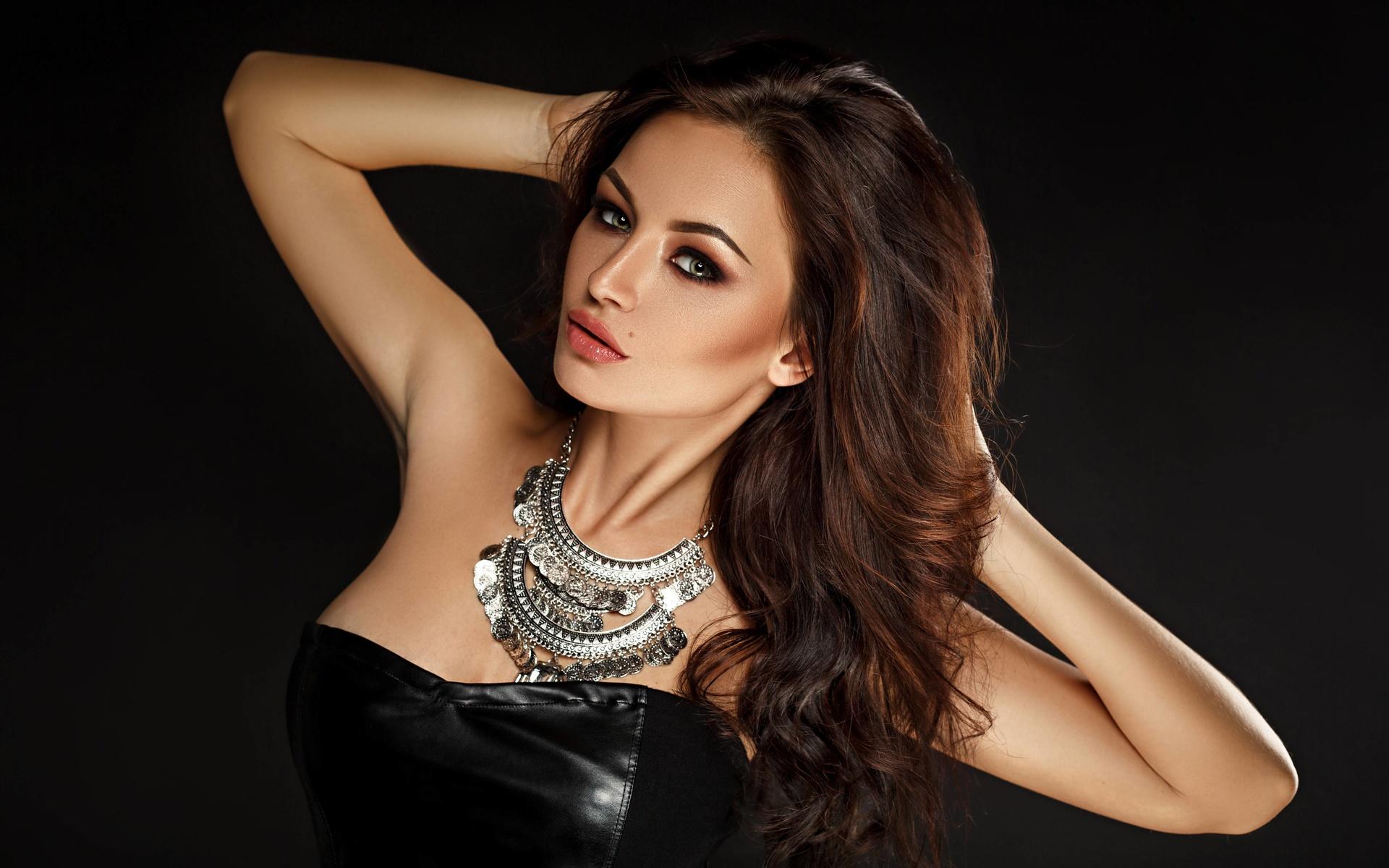 девушка, портрет, взгляд, модель, волосы, лицо, olivia pratt, dj olivia pratt, girl, portrait, look, model