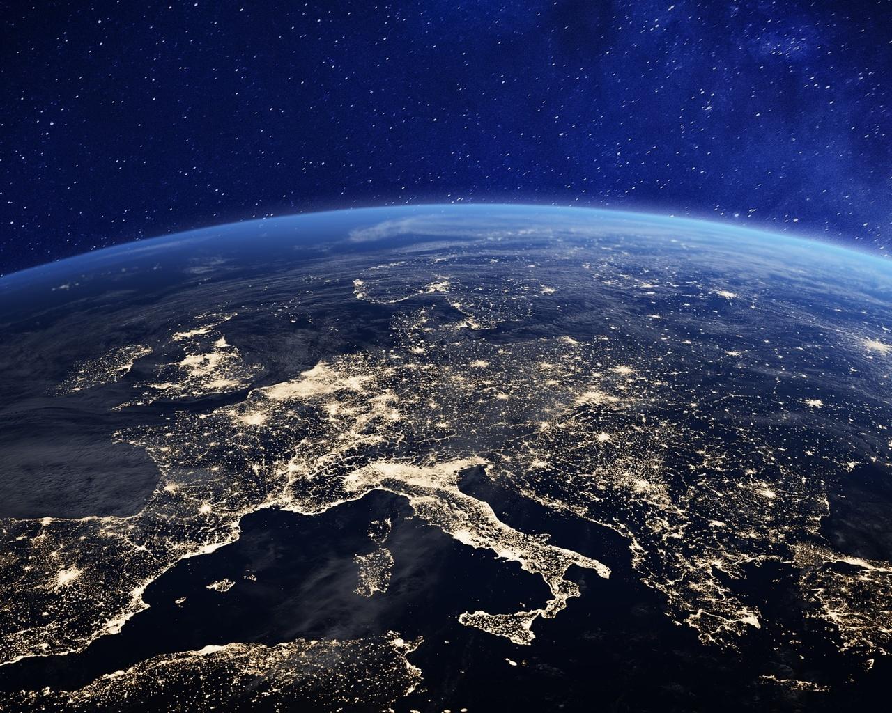 европа, планета, земля, космос