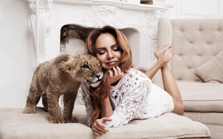 maksim, певица, львенок, lion