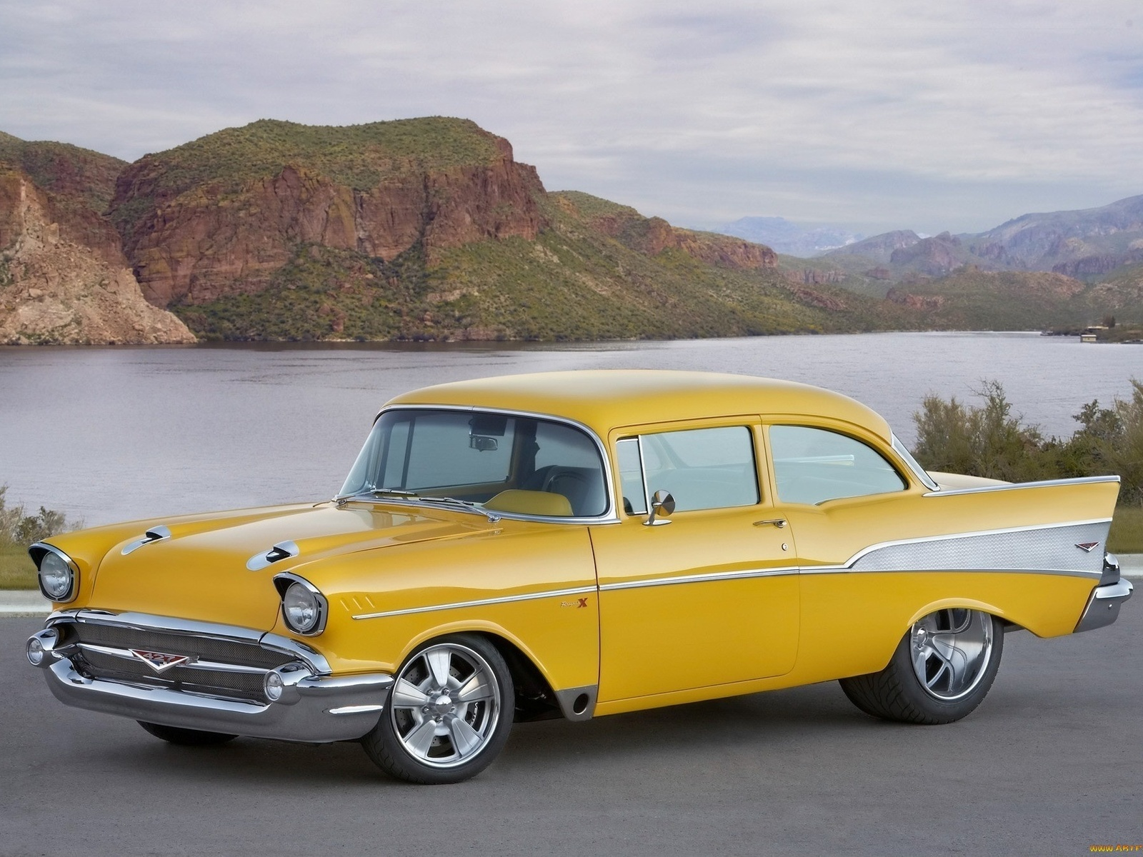 american, classic, car, chevrolet, bel air