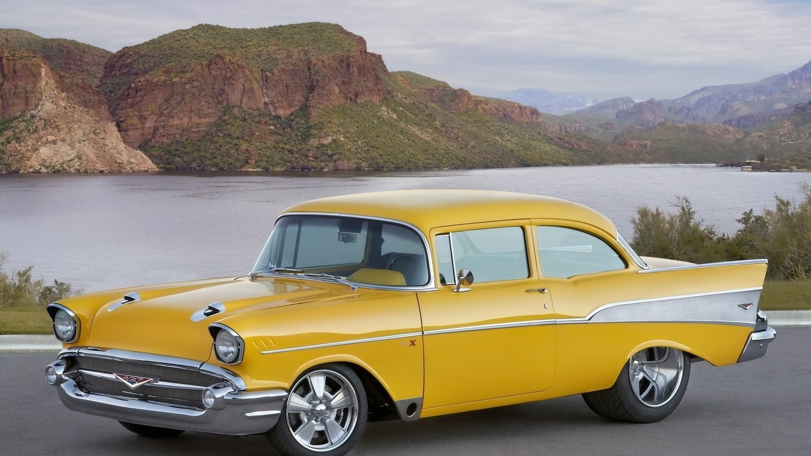 american, classic, car, chevrolet, bel air