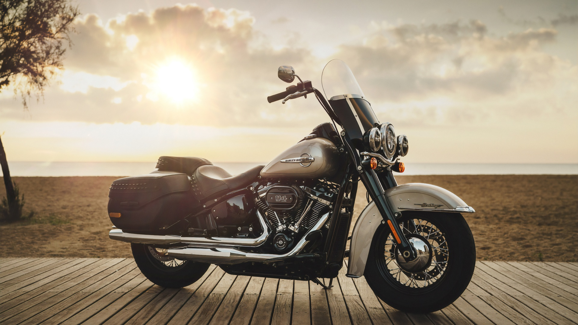 harley-davidson, мотоцикл, байк