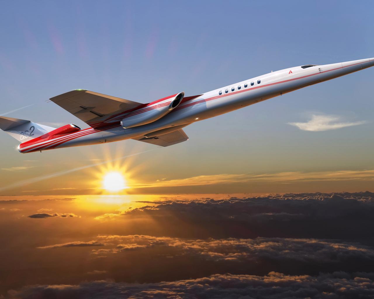 aerion, as2, самолет, концепт