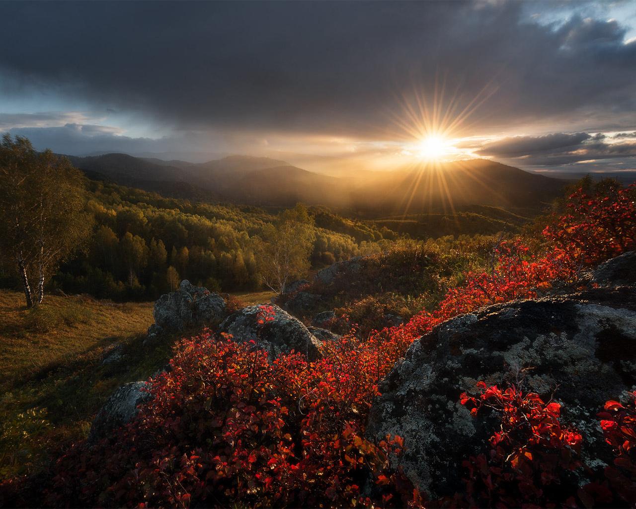 белокуриха алтайский край фото осень отец