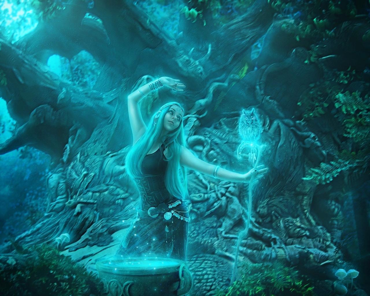 внешнему картинки мистические духи могла подумать