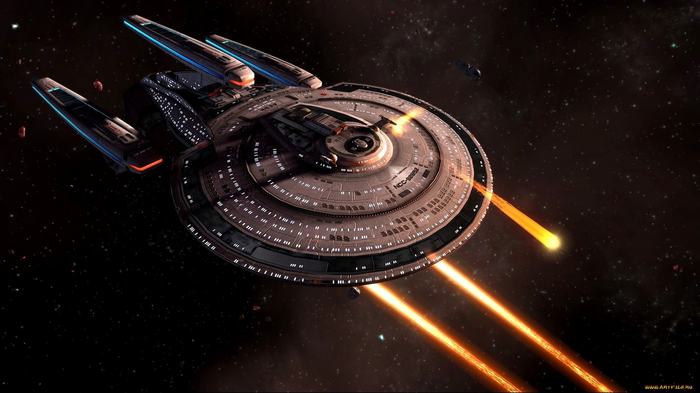 звездный путь, космический корабль, фантастика