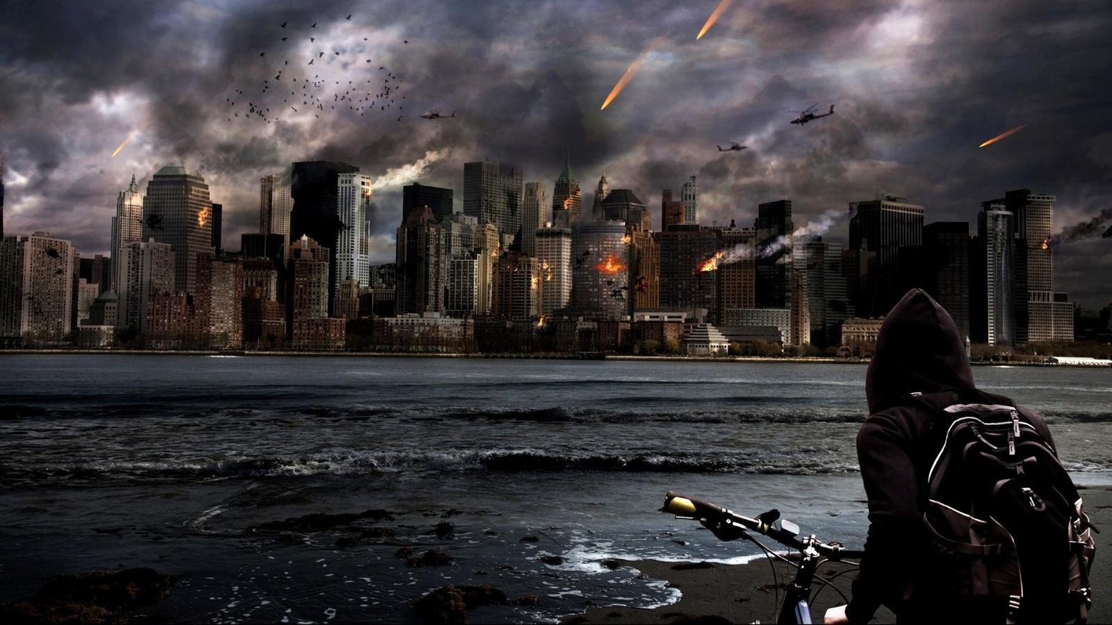 катастрофа, метеориты