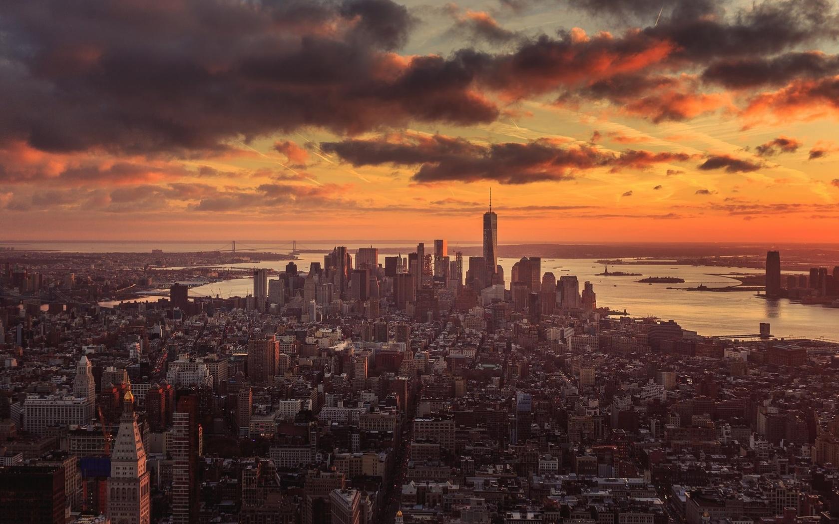 new york, город, нью-йорк
