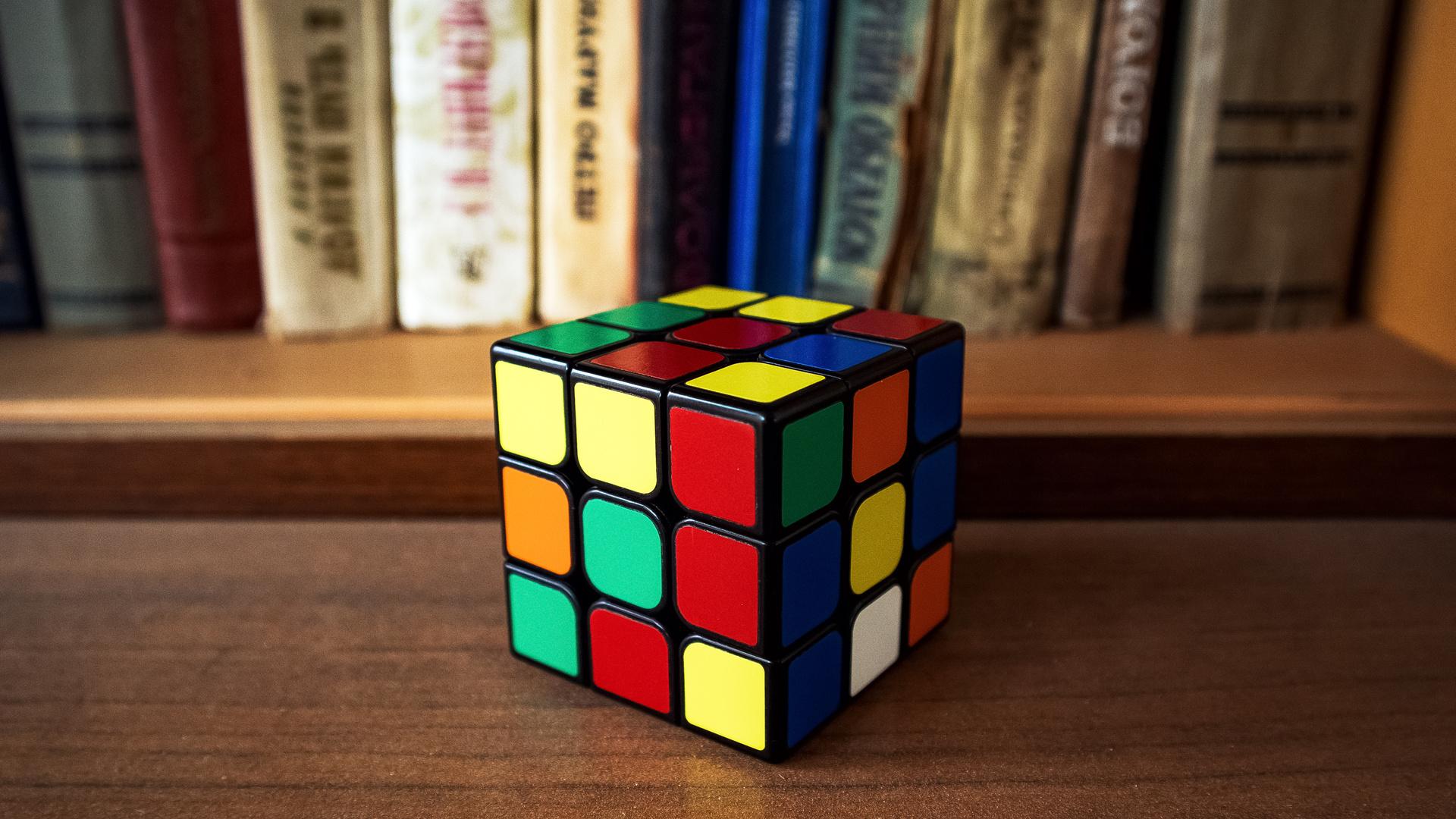 куб, книги