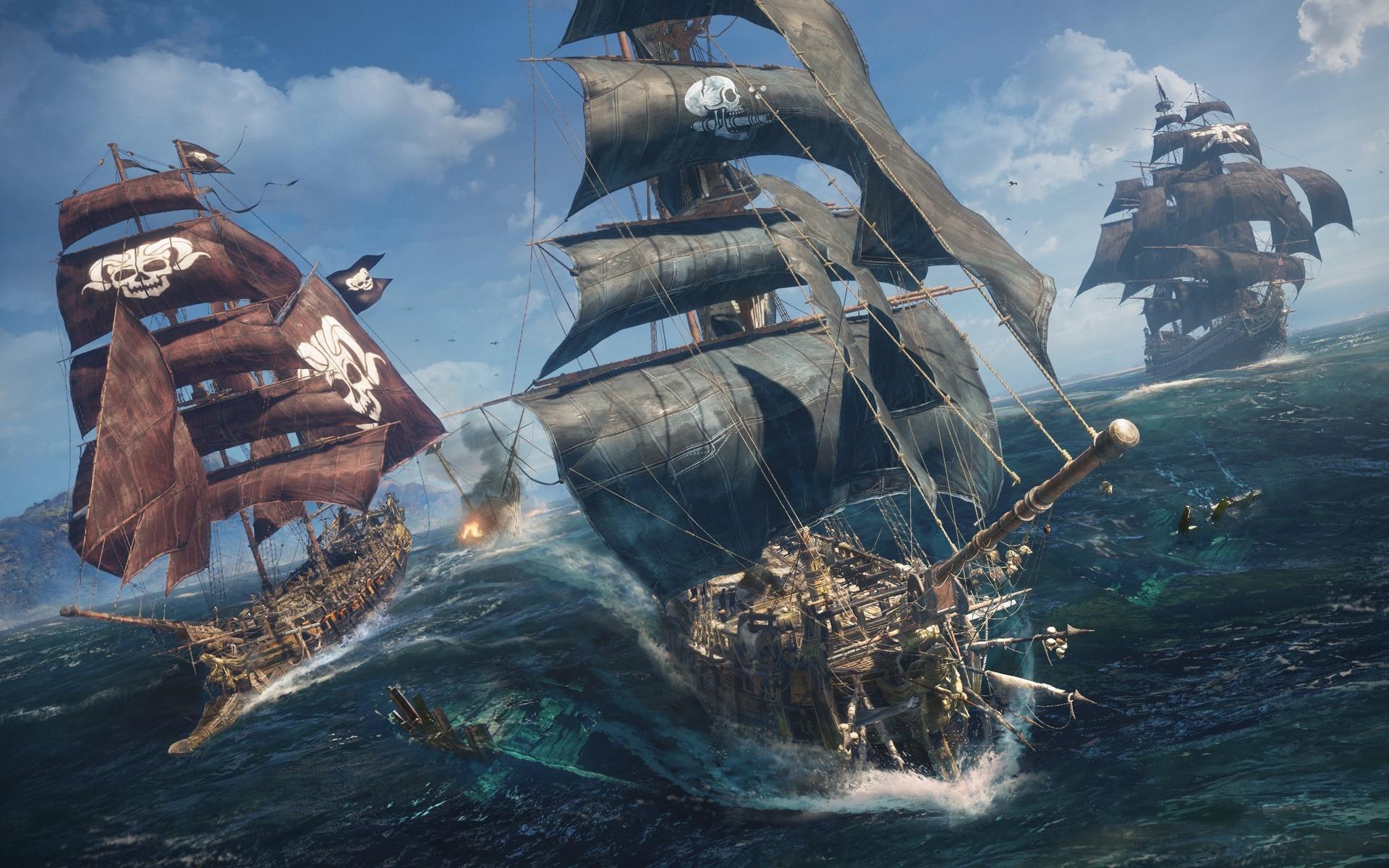 корабли, игры