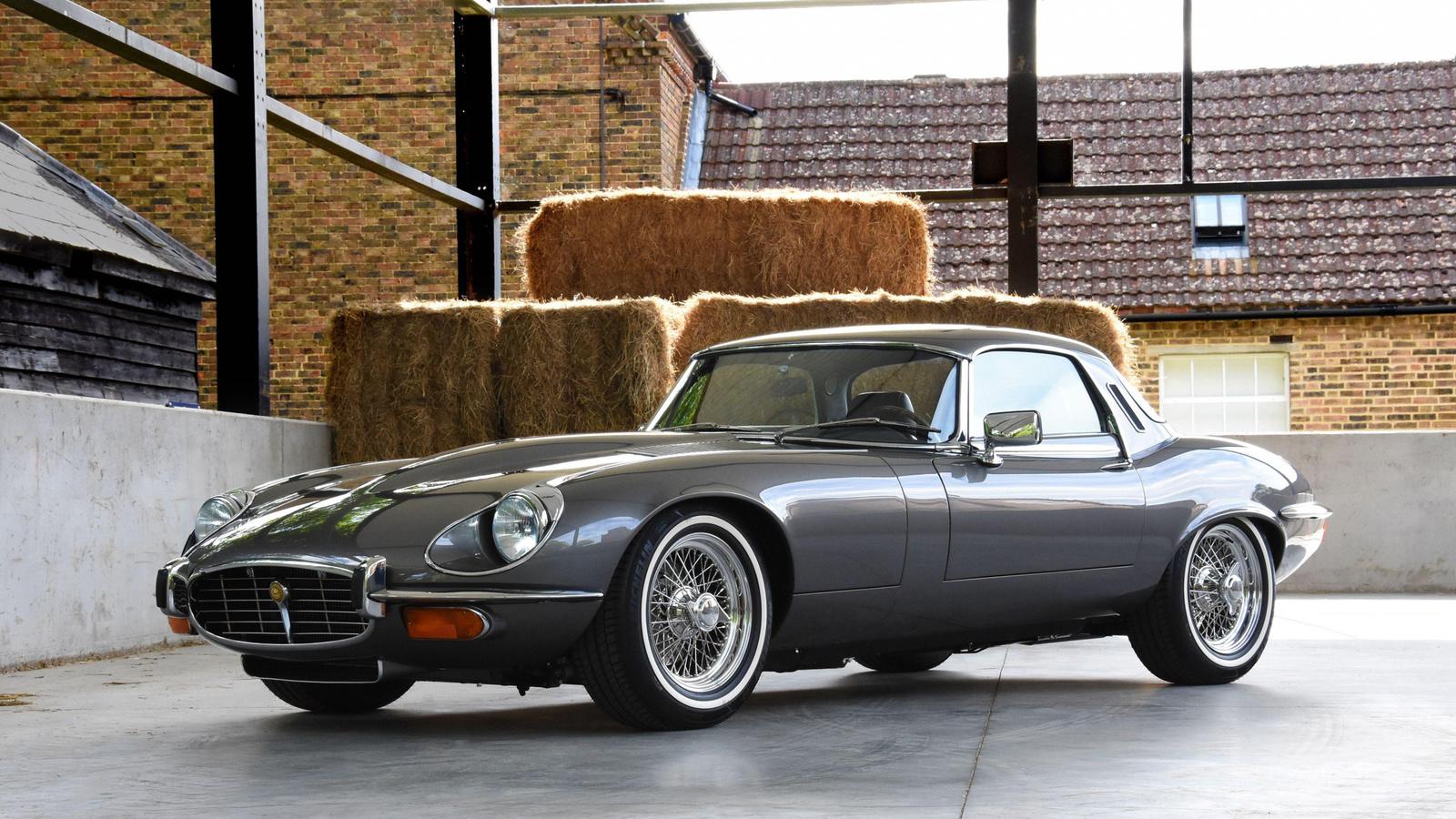 jaguar, e-type, 1962, exterior, retro