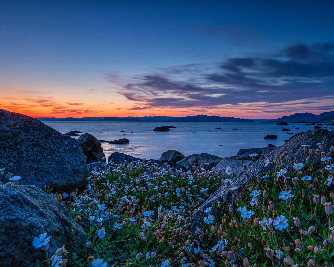 ставстё, листа, норвегия, море