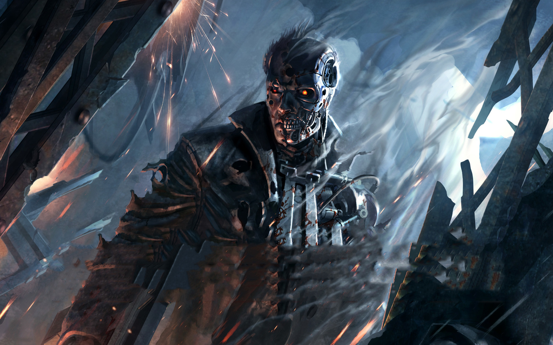 terminator, resistance, games