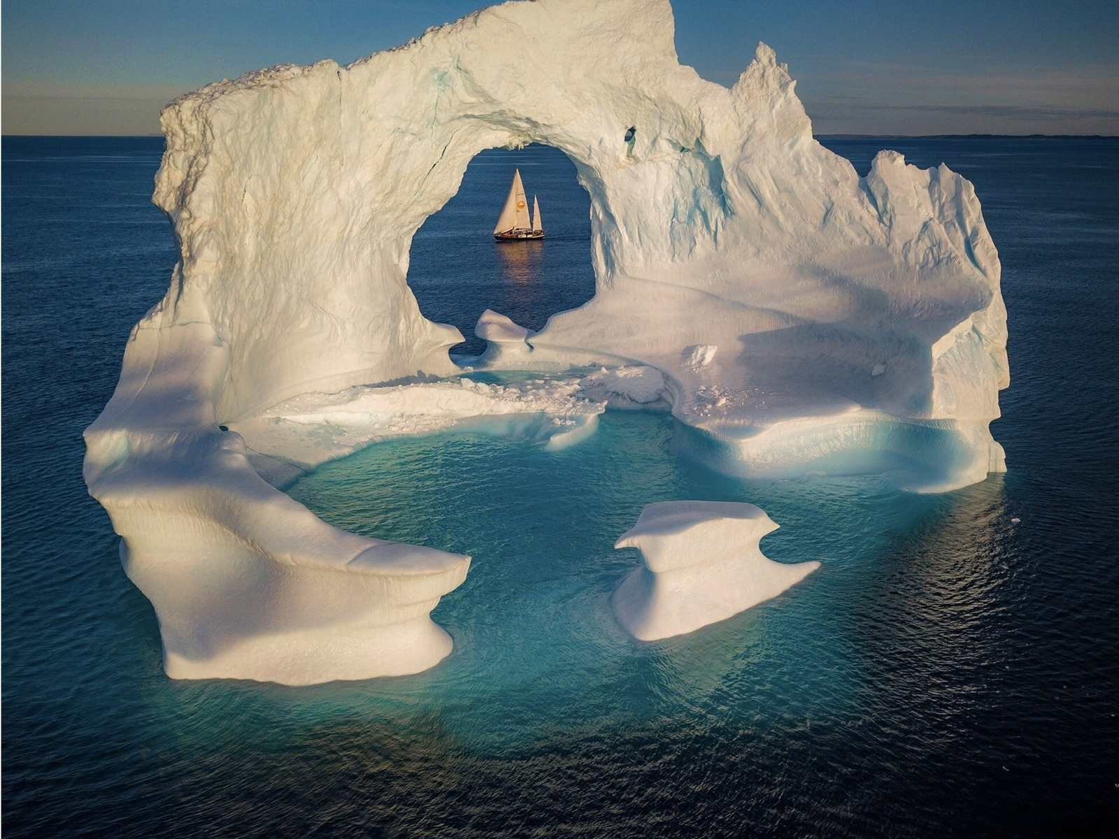 гренландия, айсберг, красотища