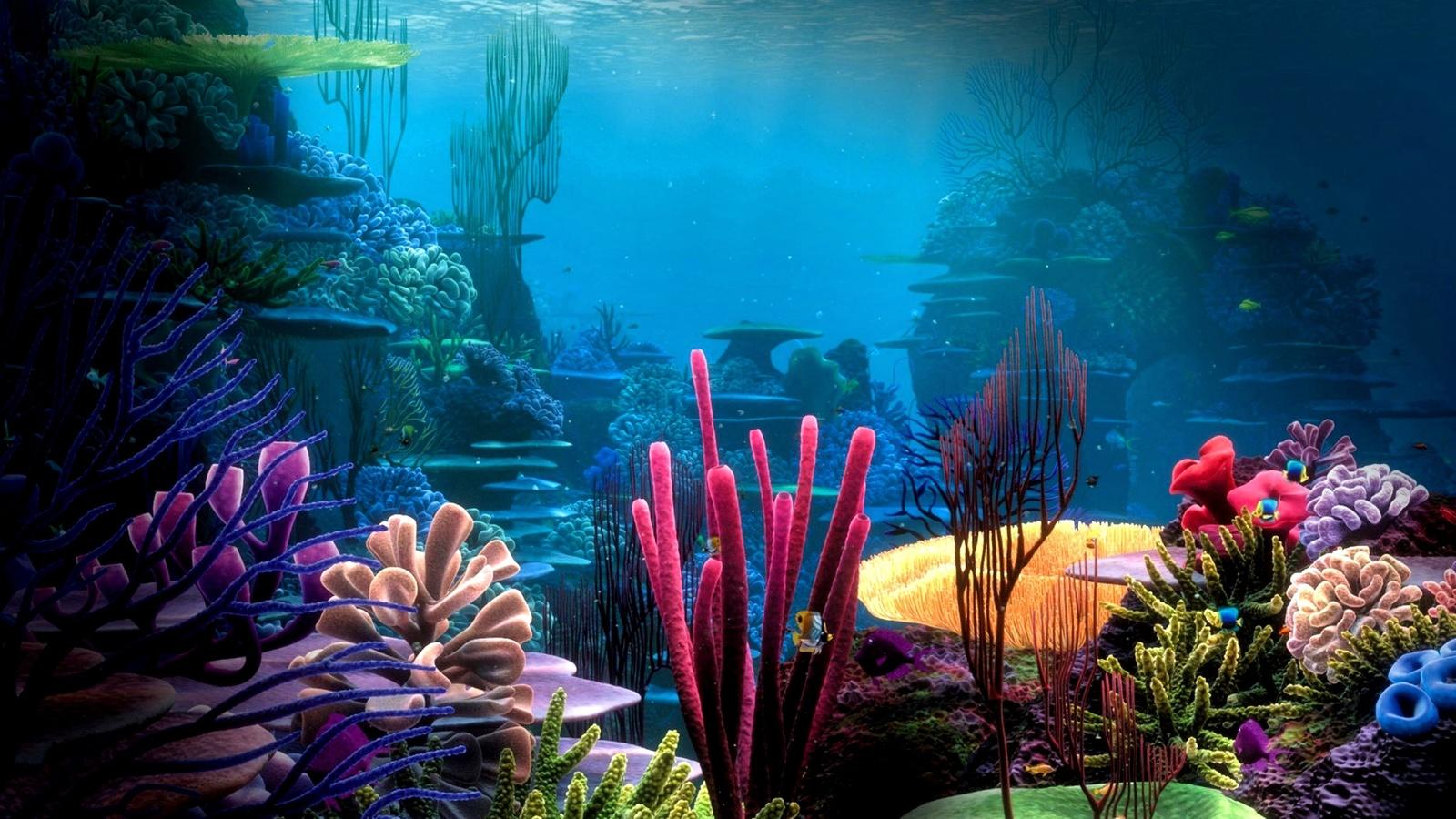 подводный, мир