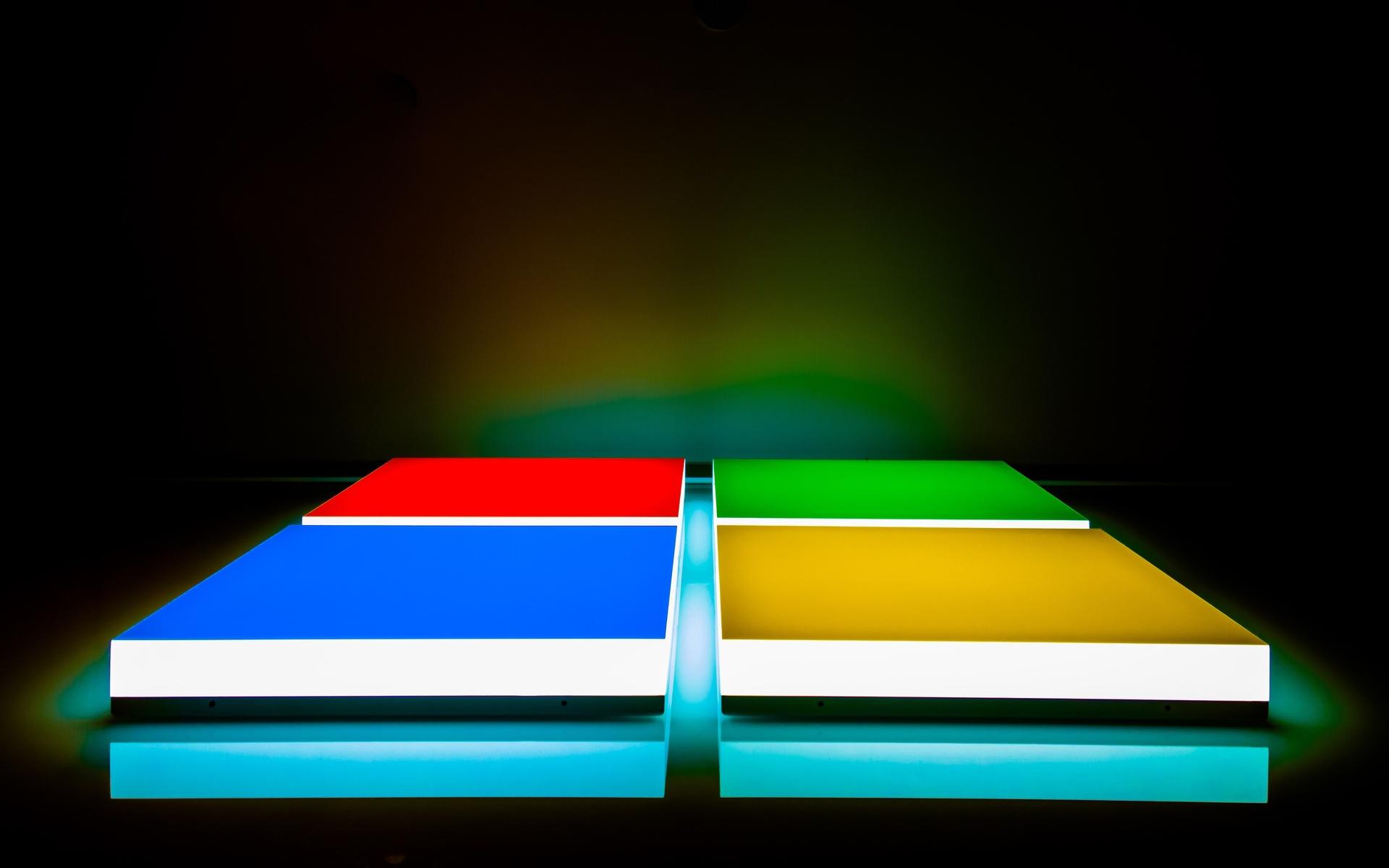 логотип, microsoft, цвета