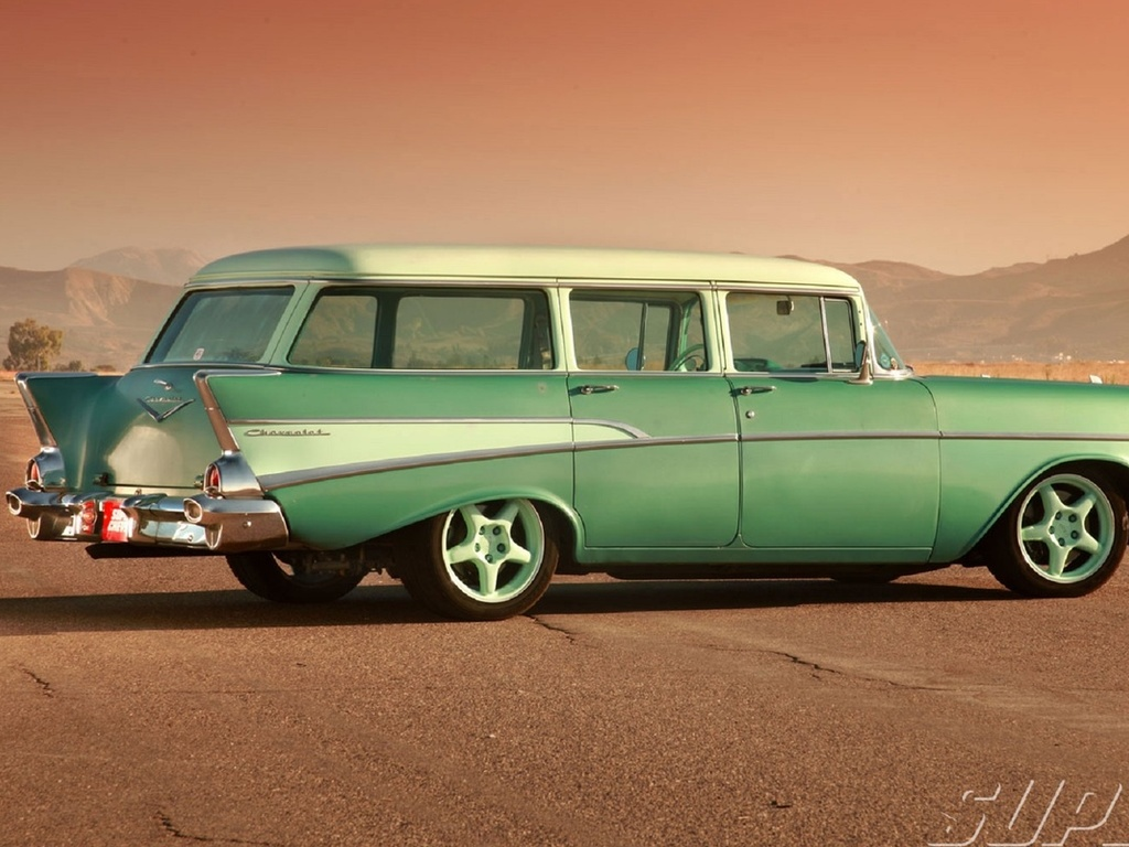 chevrolet, 210, wagon, 1957