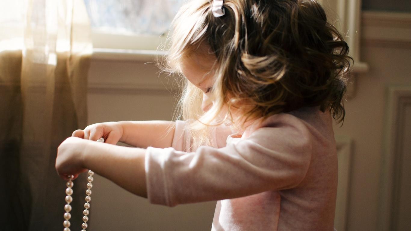 девочка, маленькая, принцесса