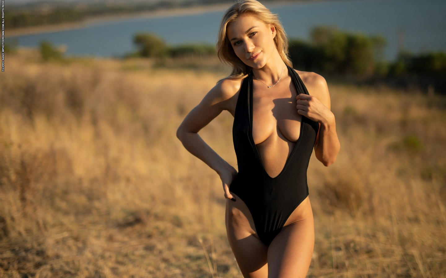 darya, boobs, big tits, nipples, swimsuit