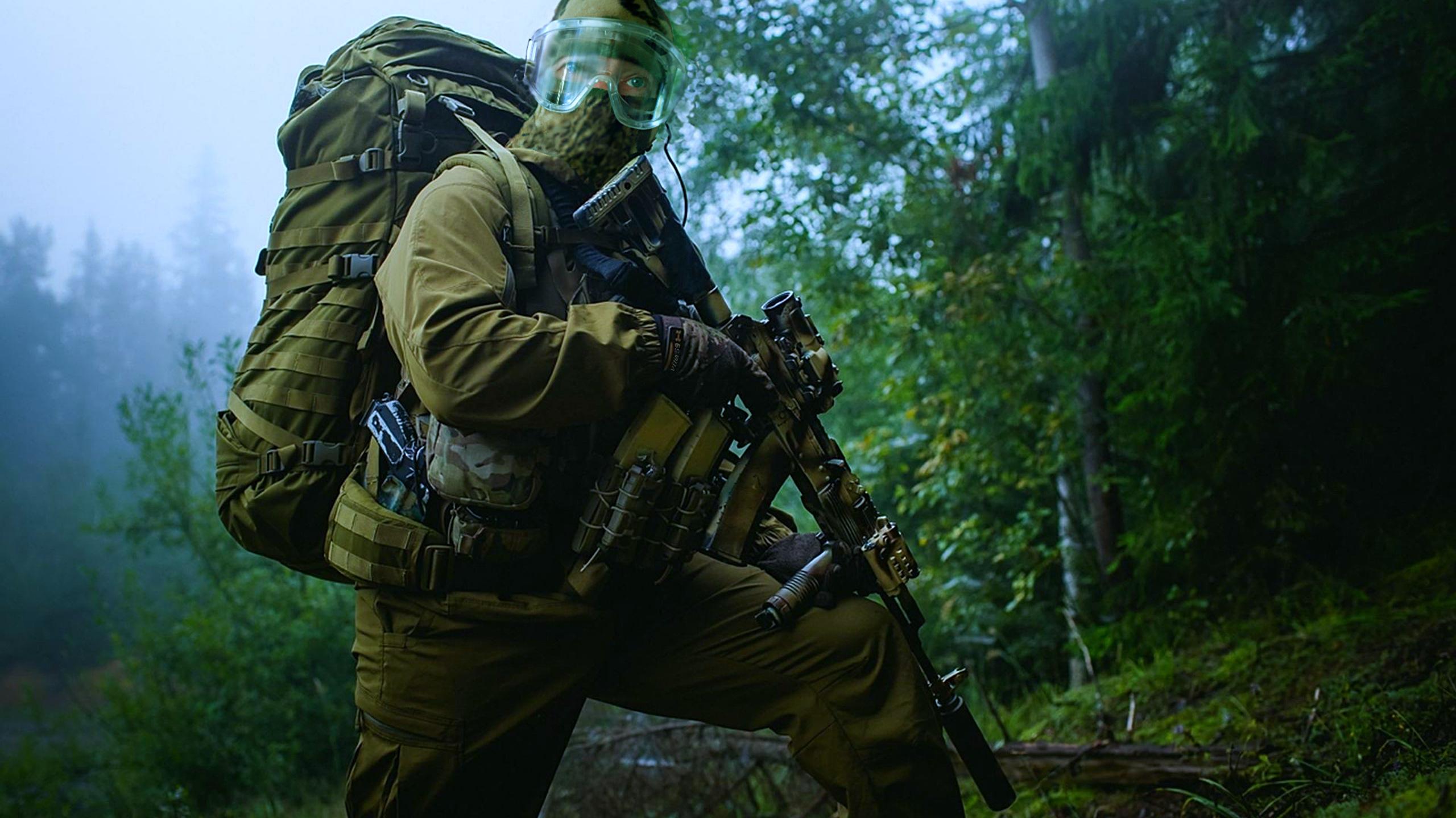 воин, задание, экипировка