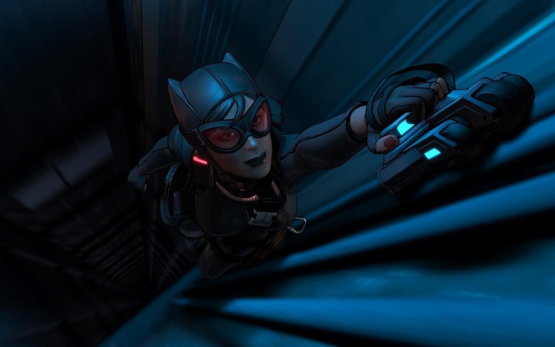фэнтези, обои, catwoman, batman, dc