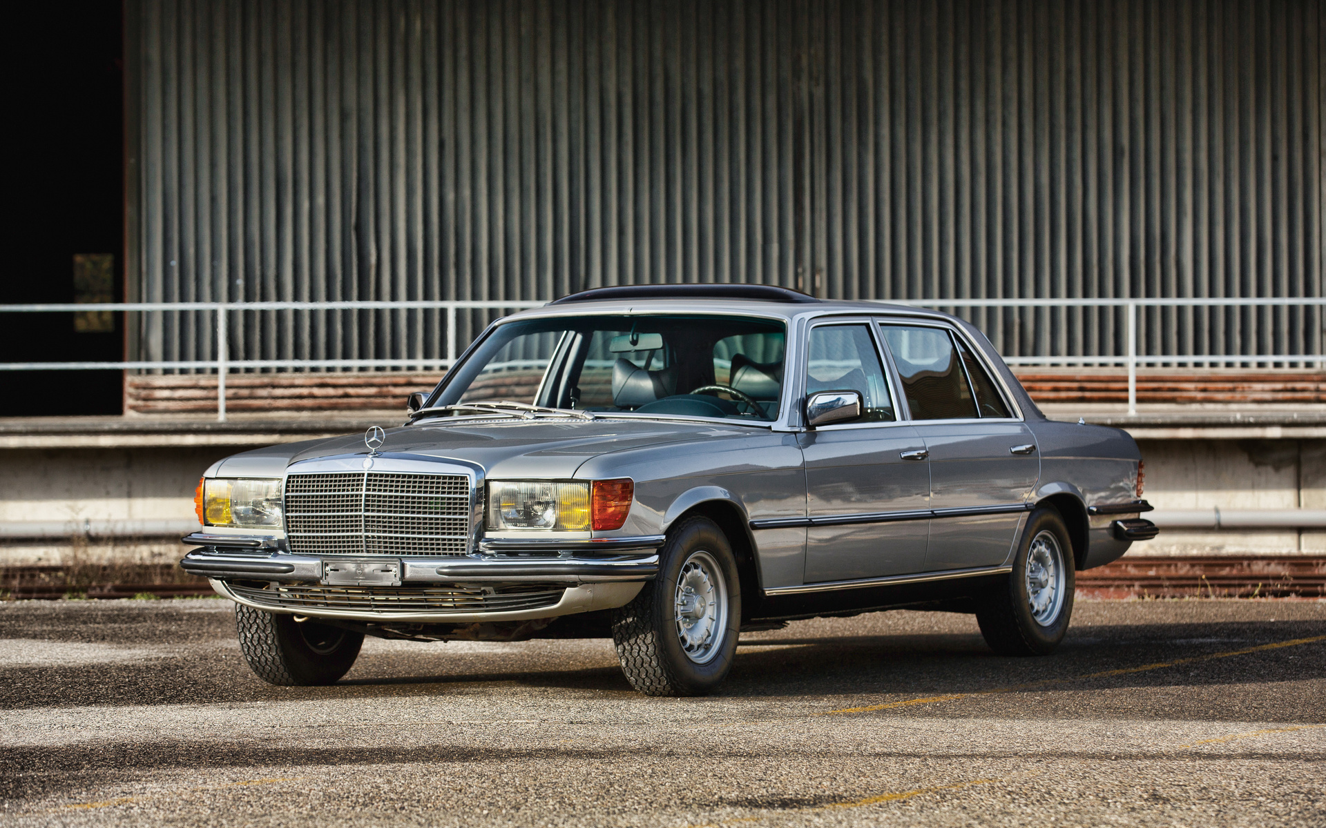 mercedes-benz 450 sel, 4k, retro cars, 1980 cars, w116, luxury cars, 1980 mercedes-benz 450 sel, german cars, mercedes