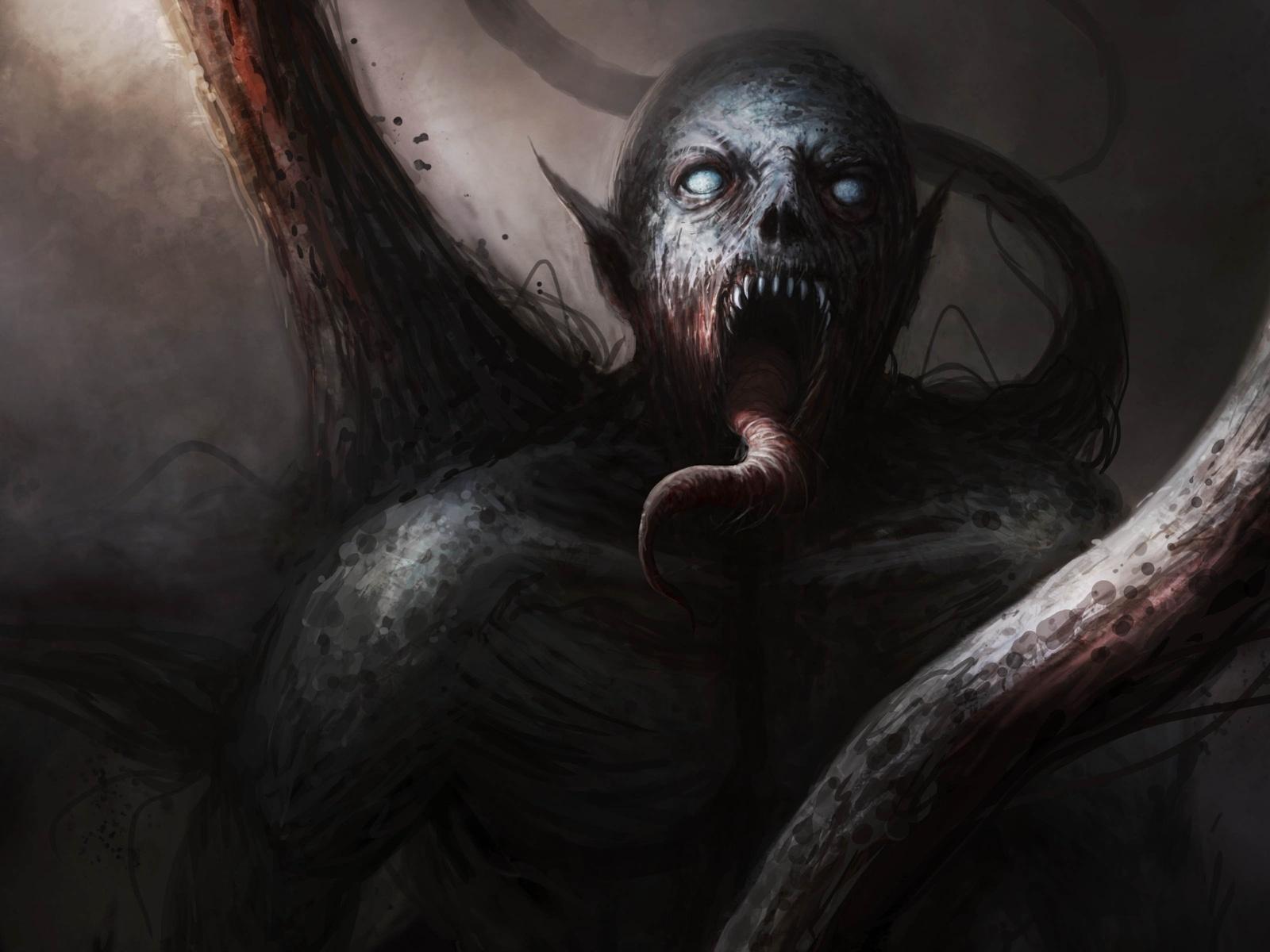 dark, demon, fantasy, evil, art, artwork
