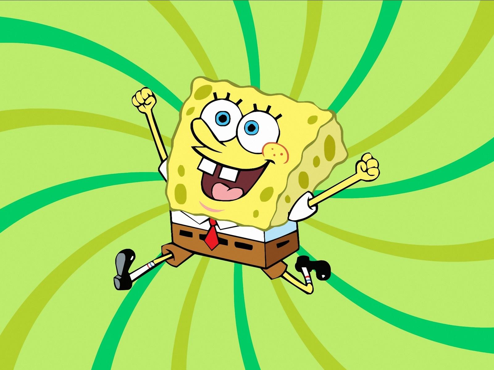 мультфильм, губка боб, квадратные штаны, персонаж, позитив, фон, ярко, красиво