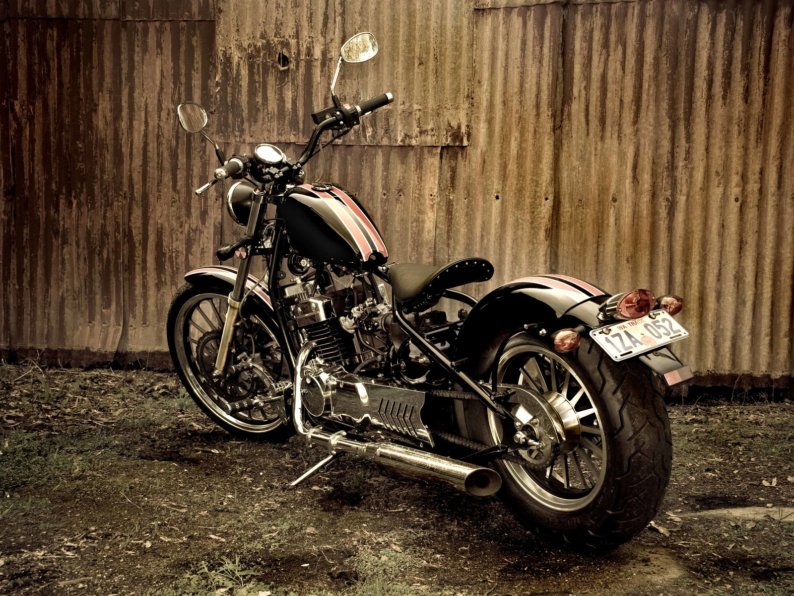 hunter, motorcycles, 350cc, bobber