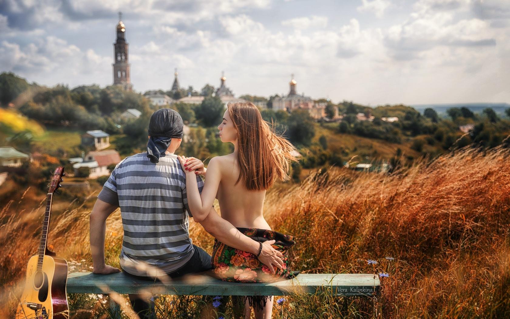 девушка, парень, на лавочке, Яна арбенина, вера калинкина