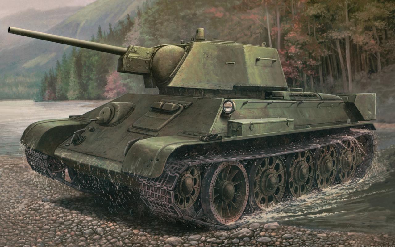 танк, тридцатьчетверка, легенда, т-34