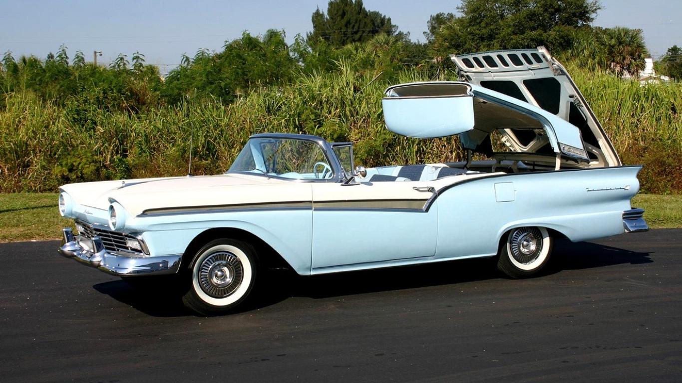 ford, thunderbird, retro