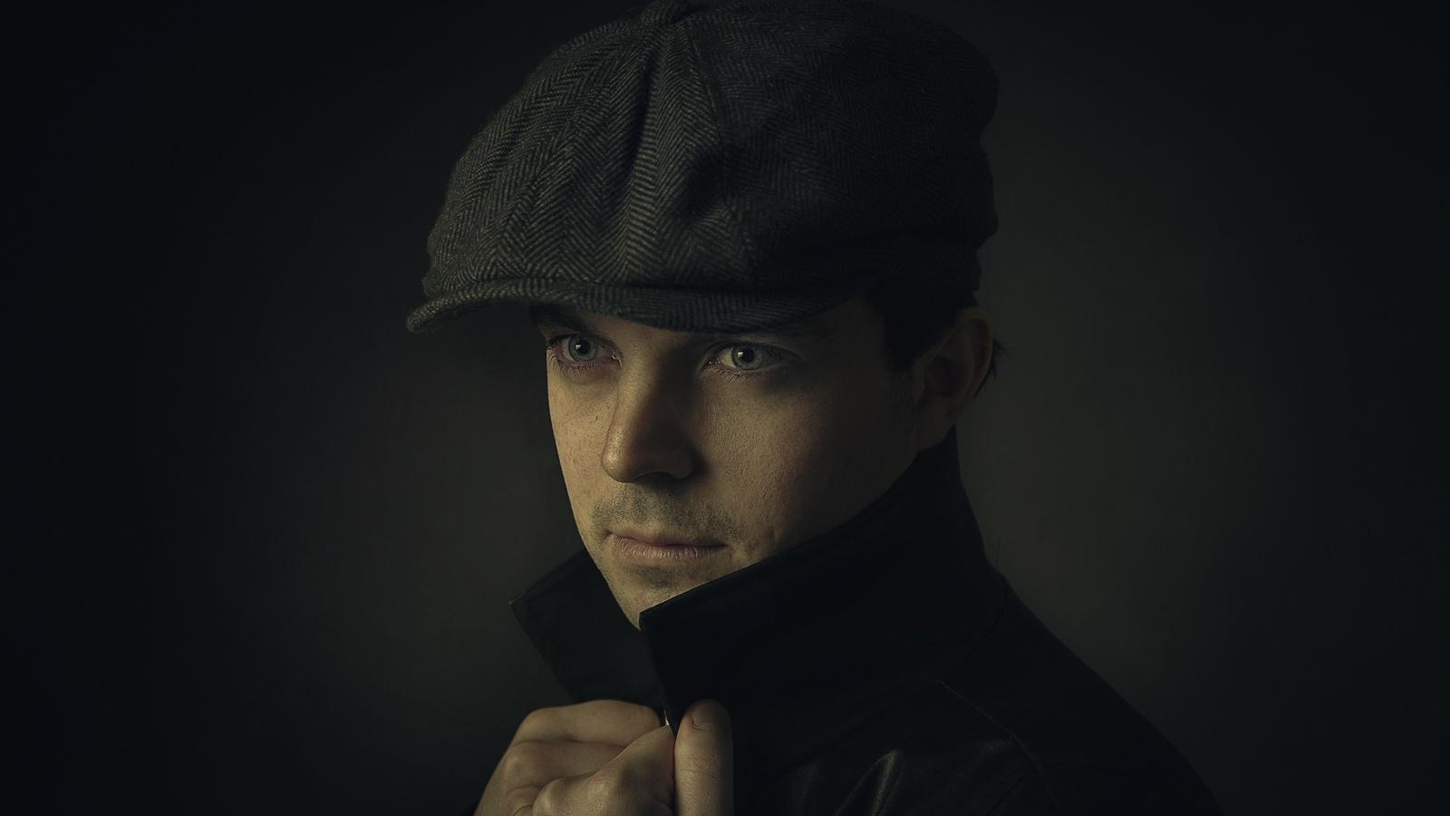 мужчина, лицо, портрет
