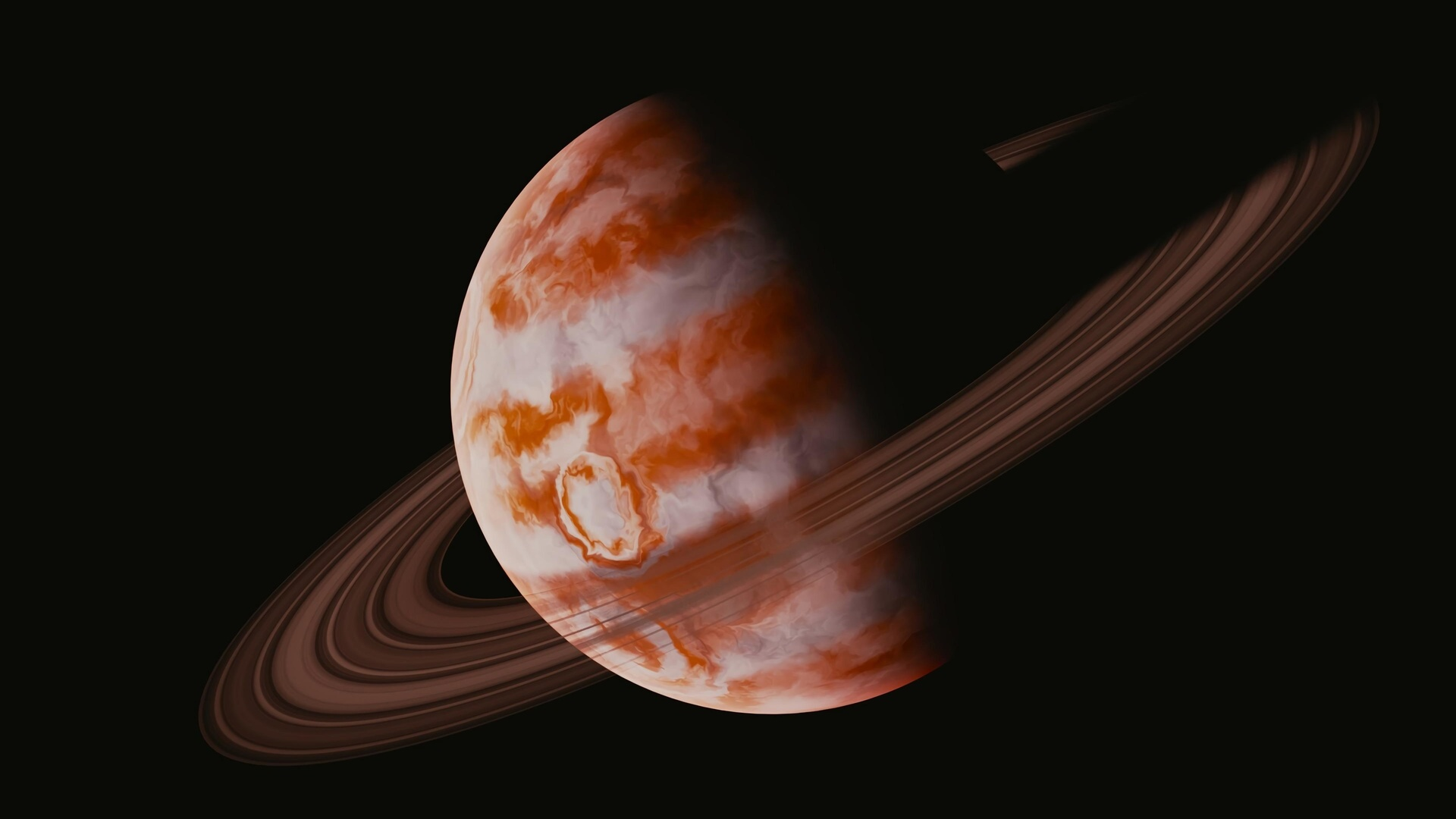 планета, орбита, космос, черный
