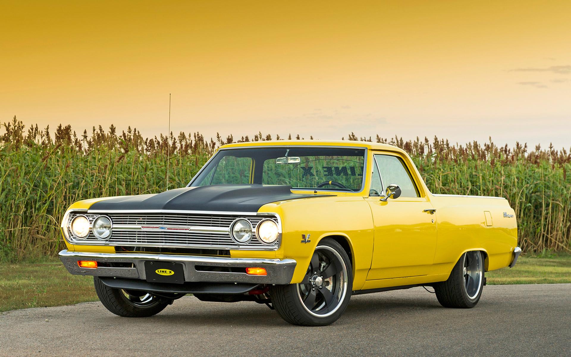 american, classic, car, chevrolet,el camino